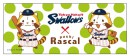Swallows×Puchi Rascal フェイスタオル